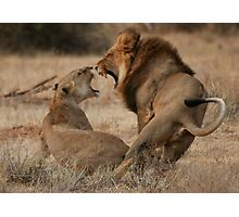 Roar Passion Photographic Print