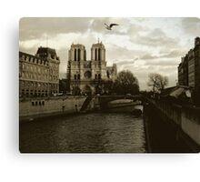 Notre Dame - Paris Canvas Print