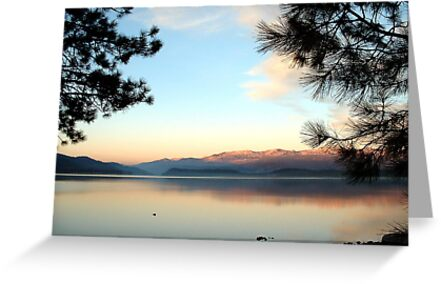 Payette Lake, McCall, ID by JimM
