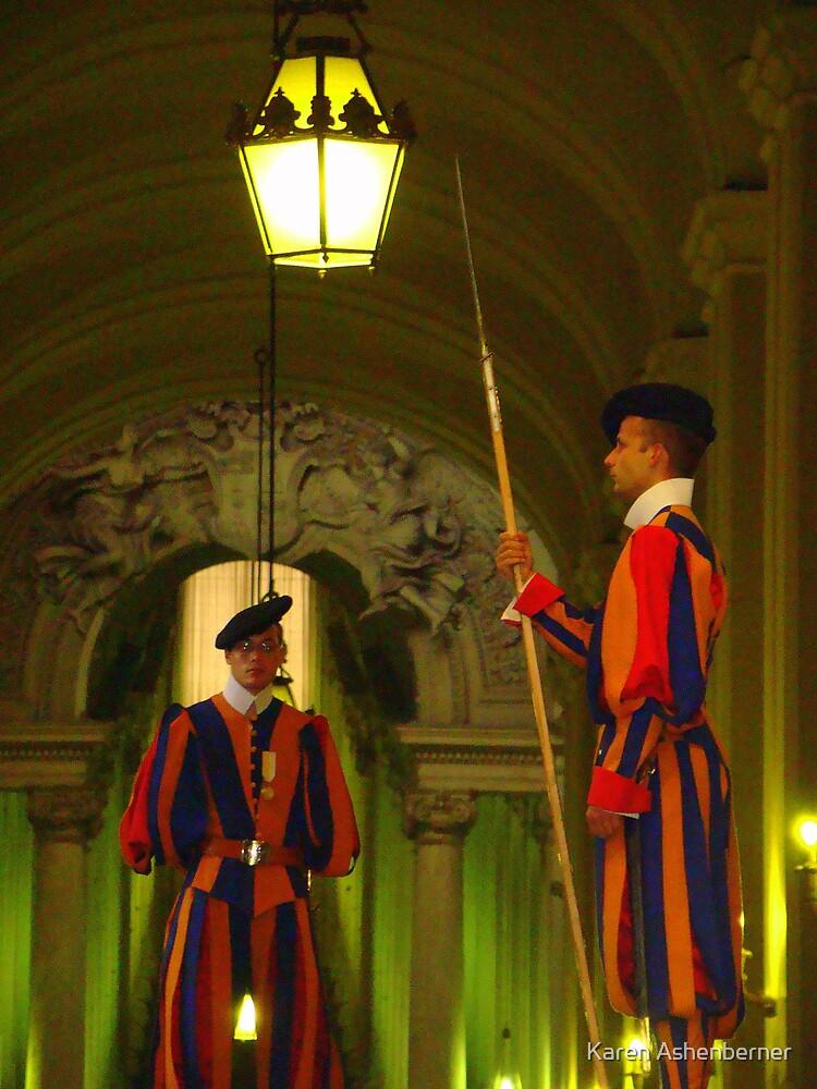 Vatican Guards by Karen Ashenberner