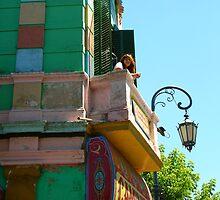 La Boca Balcony by Timothy Johnson