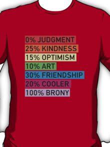 100% BRONY T-Shirt