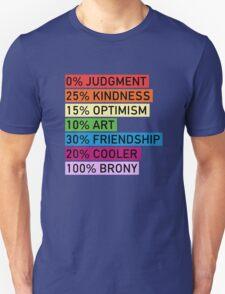 100% BRONY - MLP T-Shirt