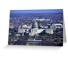 The United States Capitol renovation project - MMXIV Greeting Card