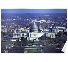 The United States Capitol renovation project - MMXIV Poster
