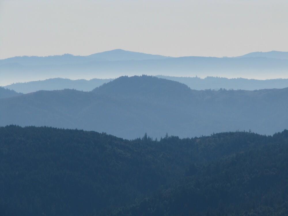 Horse Mountain View by Adam Mattel