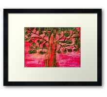 Scenic Tree Framed Print