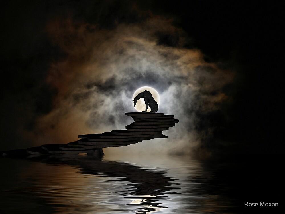 Darkness Falls by Rose Moxon