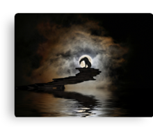 Darkness Falls Canvas Print