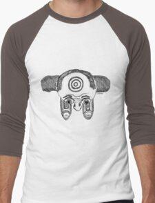Bulls Eye Men's Baseball ¾ T-Shirt
