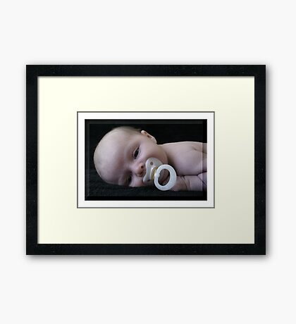 To Relax Framed Print