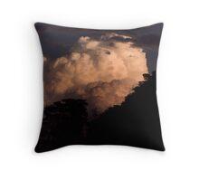 Celestial Implosion Throw Pillow