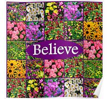 BELIEVE IN MIRACLES AND DREAMS Poster