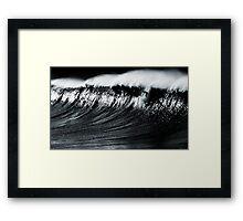 Surfs up Bronte Framed Print