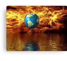 Global Warming Canvas Print
