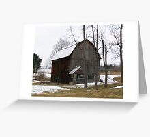 Vintage Barn Greeting Card