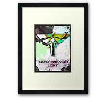 Fire Fly: The Last of Us (Look for the Light) Framed Print