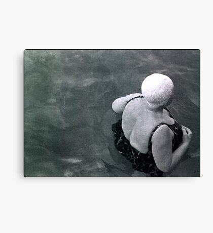 it's not over till the fat lady swims  Canvas Print