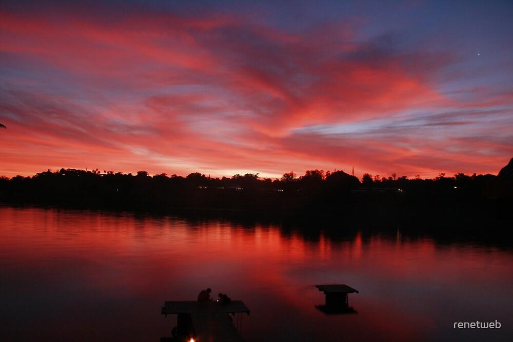 Sunset in Vanuatu by renetweb