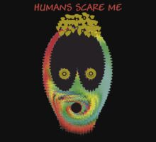 Humans Scare Me by Ruth Palmer