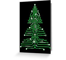 Christmas Circuitree Greeting Card