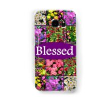 BLESSED BY GOD Samsung Galaxy Case/Skin