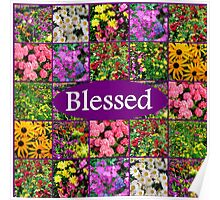 BLESSED BY GOD Poster