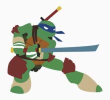Leonardo - Nickelodeon's TMNT by LankySandwich