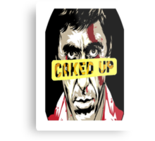 SCARFACE (CAKED UP) Metal Print