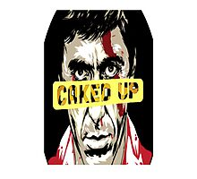SCARFACE (CAKED UP) Photographic Print