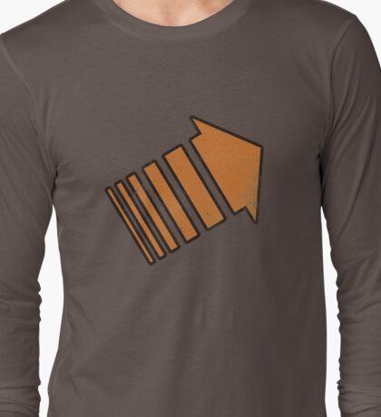 Legion Chapter 3 - orange arrow - distressed Long Sleeve T-Shirt