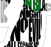 Green Lantern Sticker