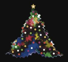 Funky Little Christmas Tree by Ruth Palmer