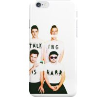 Walk The Moon - Talking is Hard iPhone Case/Skin