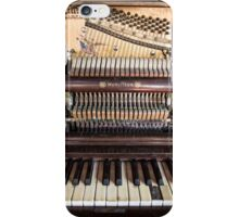 Old Honky Tonk Vintage Piano iPhone Case/Skin