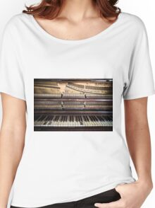 Old Honky Tonk Vintage Piano Women's Relaxed Fit T-Shirt