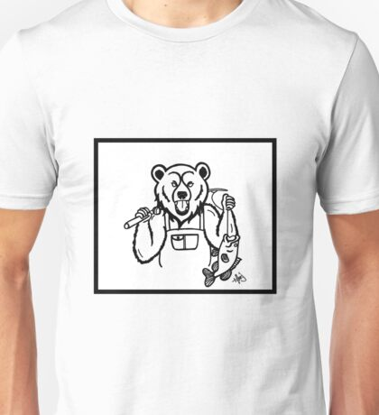 Grizzly Man Unisex T-Shirt