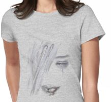 Vampire's kiss Womens Fitted T-Shirt