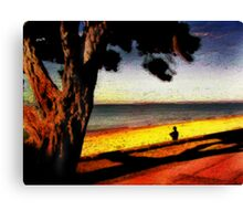 Shadow Tree Canvas Print
