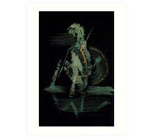 Of Shield - 0007 - Meditation Art Print