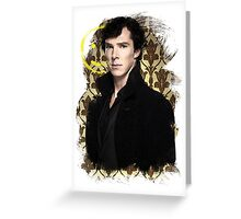 Sherlock - Benedict Cumberbatch Greeting Card