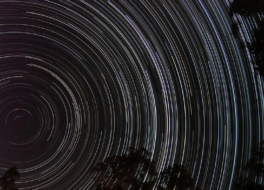 Startrails by David James
