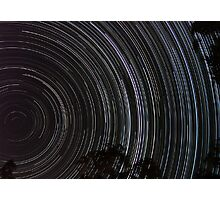 Startrails Photographic Print