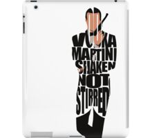 James Bond iPad Case/Skin