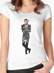 James Bond Women's Fitted Scoop T-Shirt