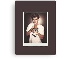Andrew Garfield (no label) Canvas Print
