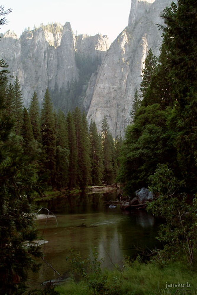 Yosemite Park by janskorb