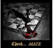 Check... Mate Photographic Print
