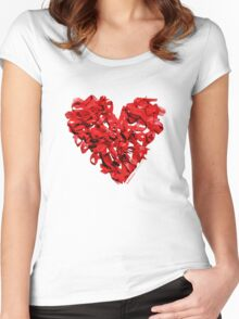 World AIDS Day 2014  Women's Fitted Scoop T-Shirt