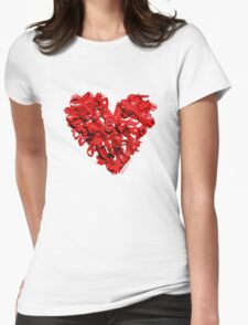 World AIDS Day 2014  Womens Fitted T-Shirt